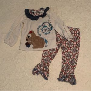 Mudpie squirrel outfit